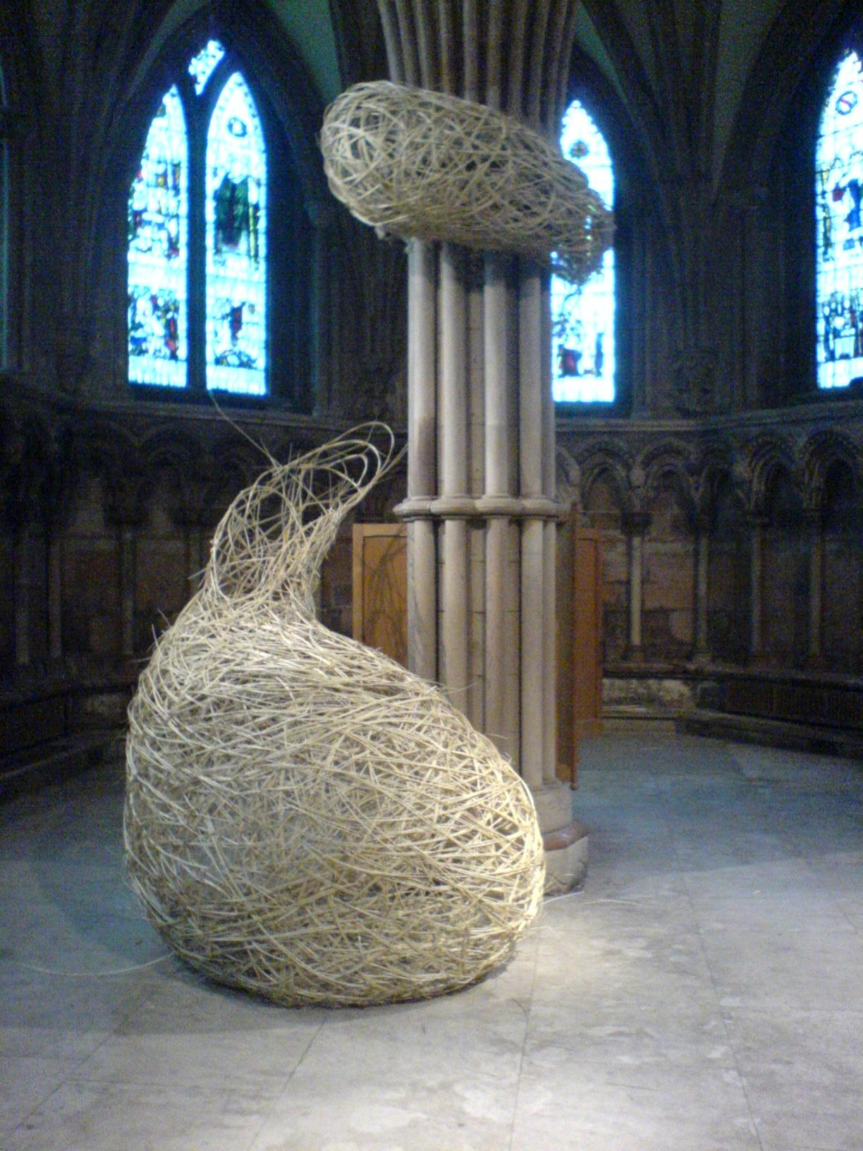 COLLABERATION WORK WITH LAURA BACON AT LICHFIELD CATHEDRAL