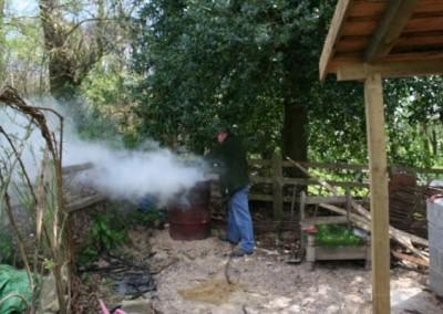 charcoal workshop
